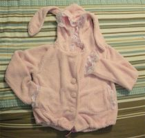 Pink Bunny Jacket by MONSTERCreations