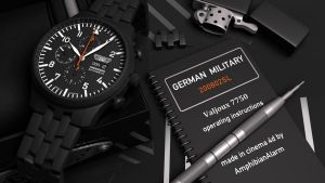 German Military PVD Chrono-03 by VaultAvenger