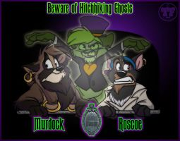 Beware Hitchhiking Ghosts by nanook123