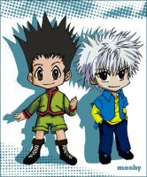 hunter x hunter by moohysensei
