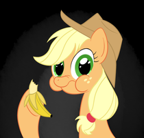ATG2 DAY8 - apples and bananas by hip-indeed