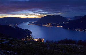Lago di Como from Camaggiore by FrozenWhisperx