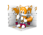 Low Poly Classic Tails by Nash-The-Mutt
