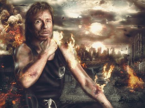 Chuck Norris by ALart90