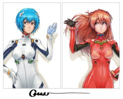 Rei and Asuka photo shoot by Omar-Dogan