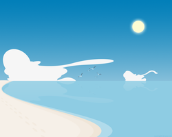 Simple Beach 3 by lassekongo83