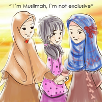 muslimah friend ship :D by fiyalayanfa2