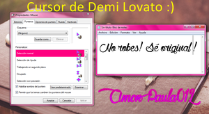 Cursor Demi Lovato by SoulInHell