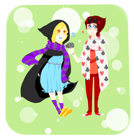 Homestuck: Consorts love by Lilycal