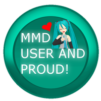 mmd pride badge/stamp by Tehrainbowllama