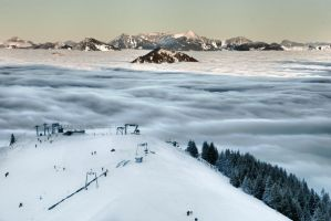 Munich, Bavarian Alp by alierturk