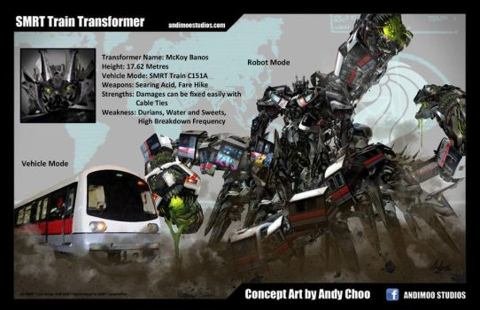 MRT Transformer by AndiMoo