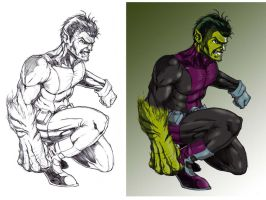 Beast Boy at Spitballin' by G-Spot1