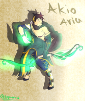 {request} - Akio the spellbow by Octopusroll