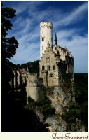 Castle on the Cliffside by Dark-Transparent