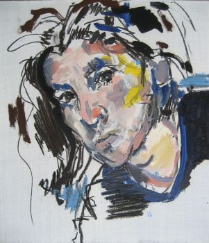 Self Portrait After a Loss by PJager