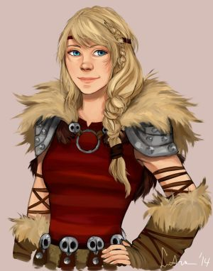 Astrid Portrait by sakuraartist