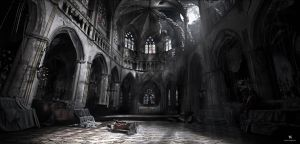 Mattepainting - Cathedral by dges