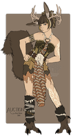 Wolpertinger SOLD by LanaluAdopts