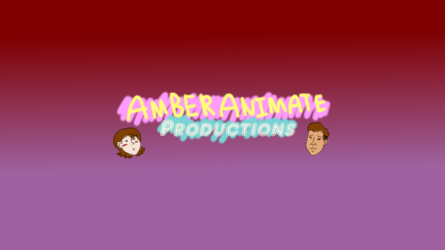 AmberAnimated Productions Channel Art by LUVKitty13