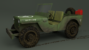 Willys Jeep  by Blanco111