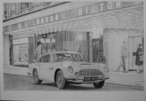 1964 Aston Martin db5 by GTracerRens