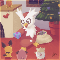 + #225 - Delibird + by KyseL