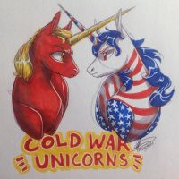Commie Vs. Freedom by EbonyTails