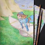 Nausicaa of the Valley of the Wind by ukaryfullmoon