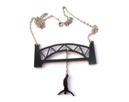 Bungee Jumping necklace by milkool