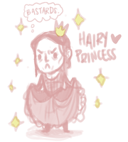 Hairy Princess by Batata-Tasha