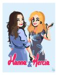 Hanna and Mercia by Sarafinah