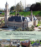 Model City 2 stock pack by dierat-stock