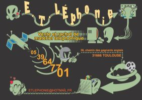 E T Lephonie   Flyer by Ockam