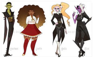 OoC - Stylized Cast (set 1) by Ai-Bee