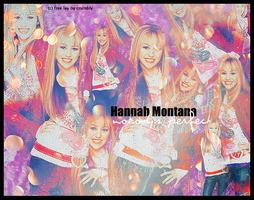 Hannah Montana by graphicprincess