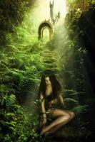 Alone In The Jungle by gocer-art