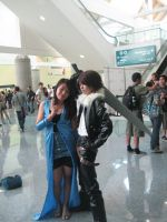 Squall and Rinoa by FaNtAsYzMaRiOnEtTe