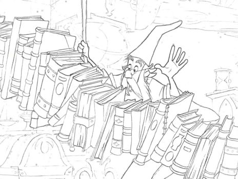 Sword-in-Stone Coloring Page 4 by Richard67915