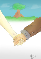hold hands by blueDREAM-SH