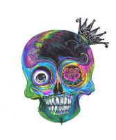 Day of the dead by BurningCrayola