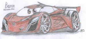Baron the Mazda Furai by CurtTheMadProfessor