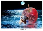 Father Adam's apple by AMROU-A