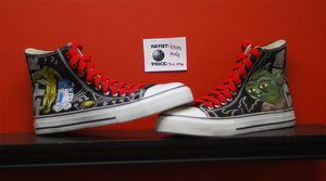 Star Wars Chucks by Chylde