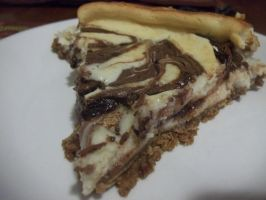 Nutella Cheesecake! (Recipe!) by emokitten687