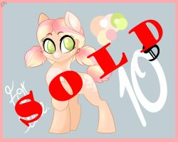 Pony for Sale. SOLD by dragonfoxgirl