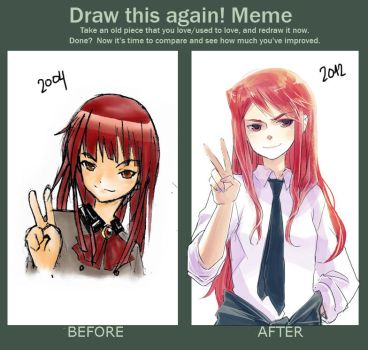 Draw this again meme by demitasse-lover