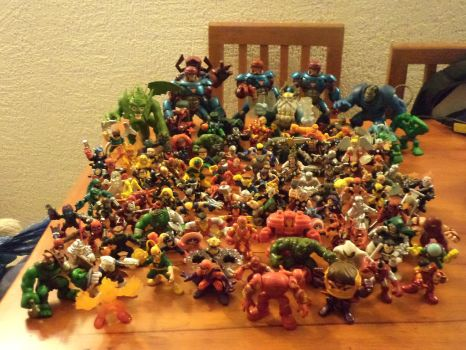 110's MArvel SHS COllection!! by Argahal