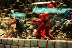 G.I. Joe Figure Fight by alaniz25