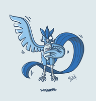 Articuno like a Sir by Italiux